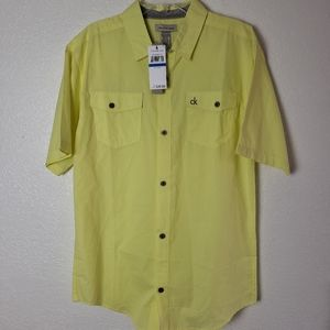 Calvin Klein Jeans Button down Shirt NWT